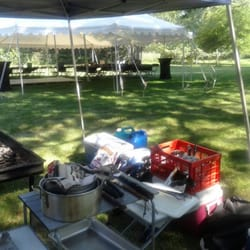 Bon Photo Of Randyu0027s Backyard BBQ Catering   Romulus, MI, United States.  Seating Area