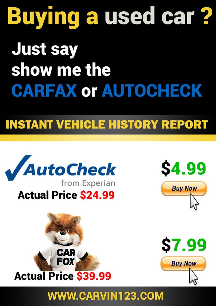 Update My Car Service History Car Fax