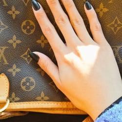 Photo Of Lavender Nails Spa Elkridge Md United States Matte Black