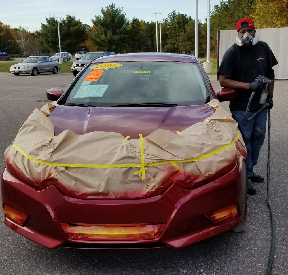 Jb mobile auto paint repairs 37 photos body shops for Mobile auto painting