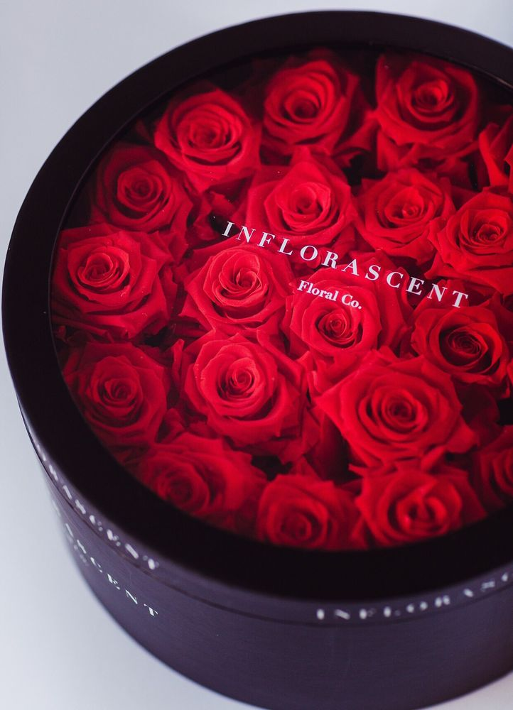 Photo Of Inflorascent Fremont Ca United States Long Lasting Preserved Red Roses