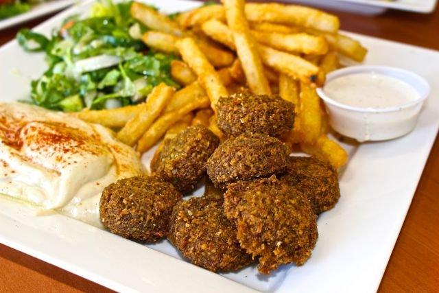 Food from Hummus Express
