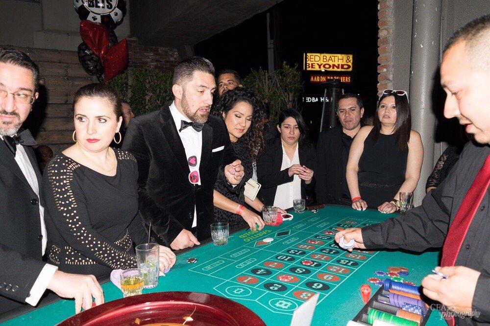 Casino night party rentals los angeles