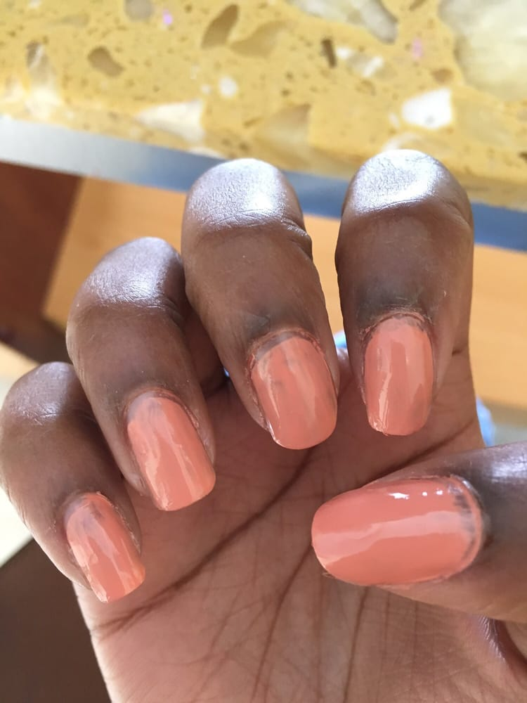 This is the most disrespectful manicure I\'ve ever received. If you ...