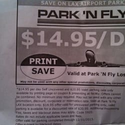 park n fly lax reviews