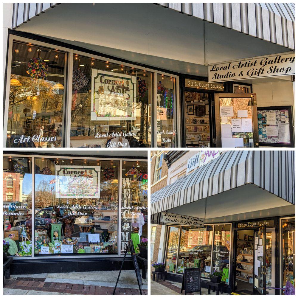Corner Arts Gallery, Studio & Gift Shop: 30 S Court Sq, Newnan, GA