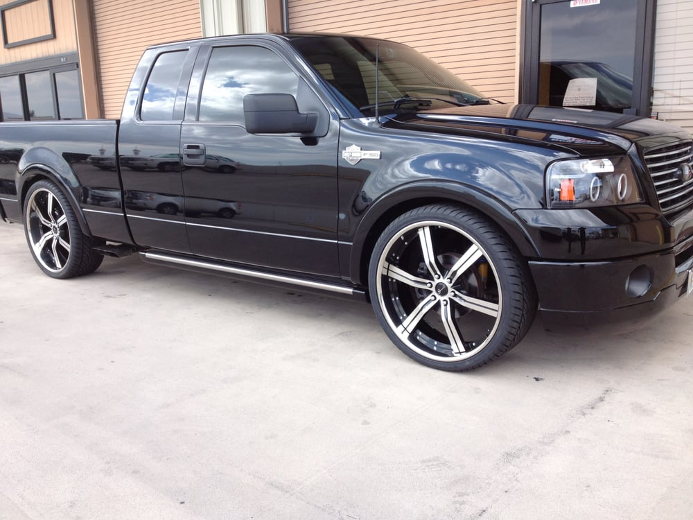 ford f150 harley davidson with 26inch gianna wheels yelp. Black Bedroom Furniture Sets. Home Design Ideas