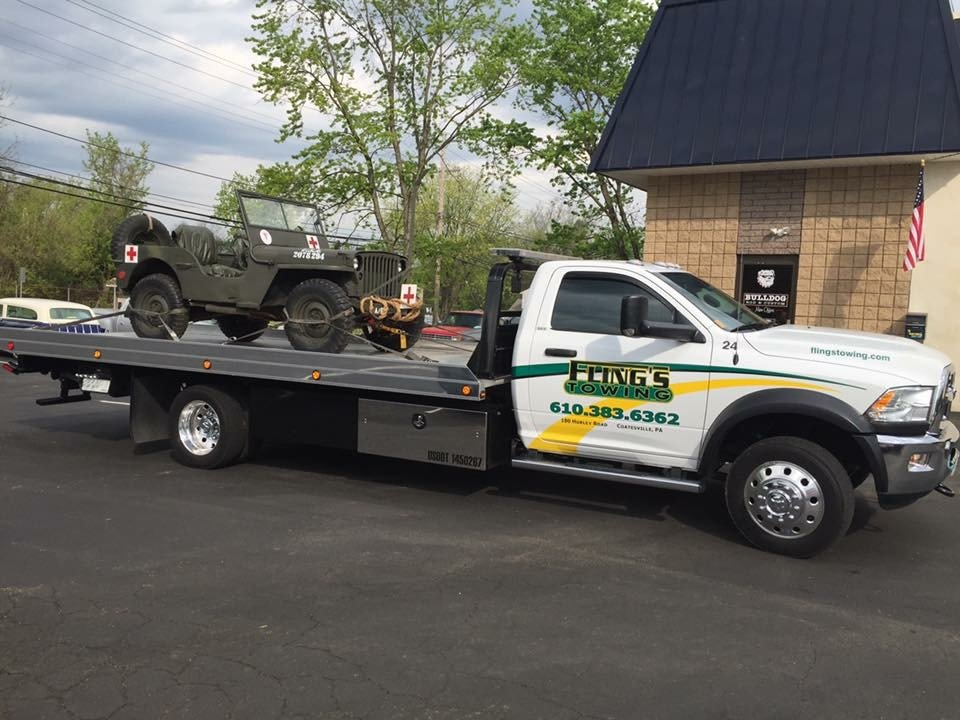 Fling's Towing Inc.: 180 Hurley Rd, Coatesville, PA