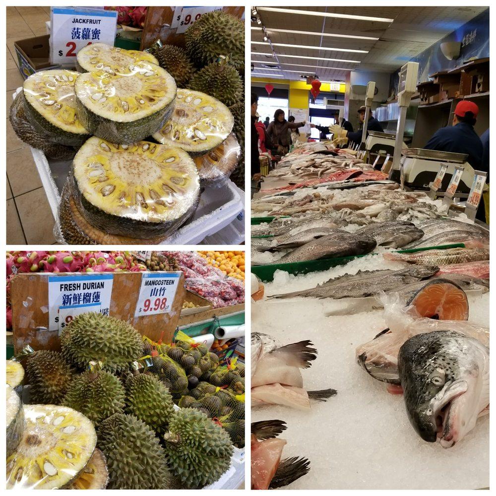 Gold City Supermarket: 4631 Kissena Blvd, Flushing, NY
