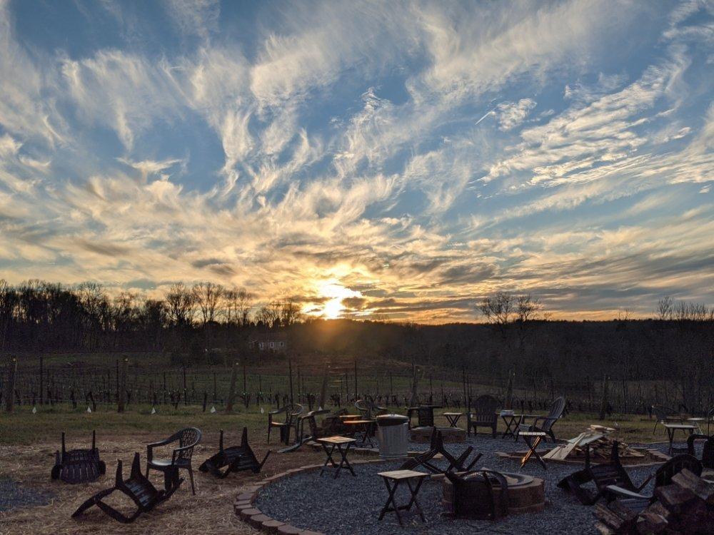 Golden Road Vineyards: 542 Golden Rd, State Road, NC