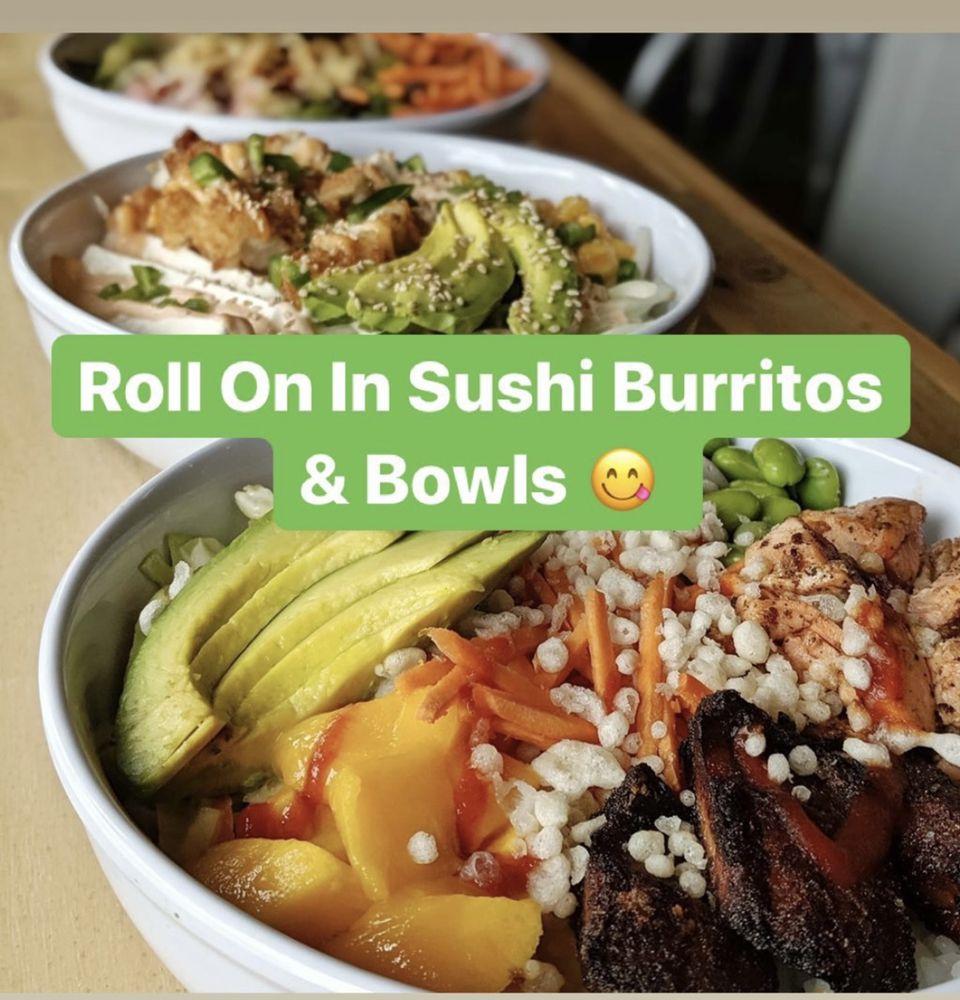 Roll On In Sushi Burritos & Bowls: 1220 Buchholzer Blvd, Cuyahoga Falls, OH