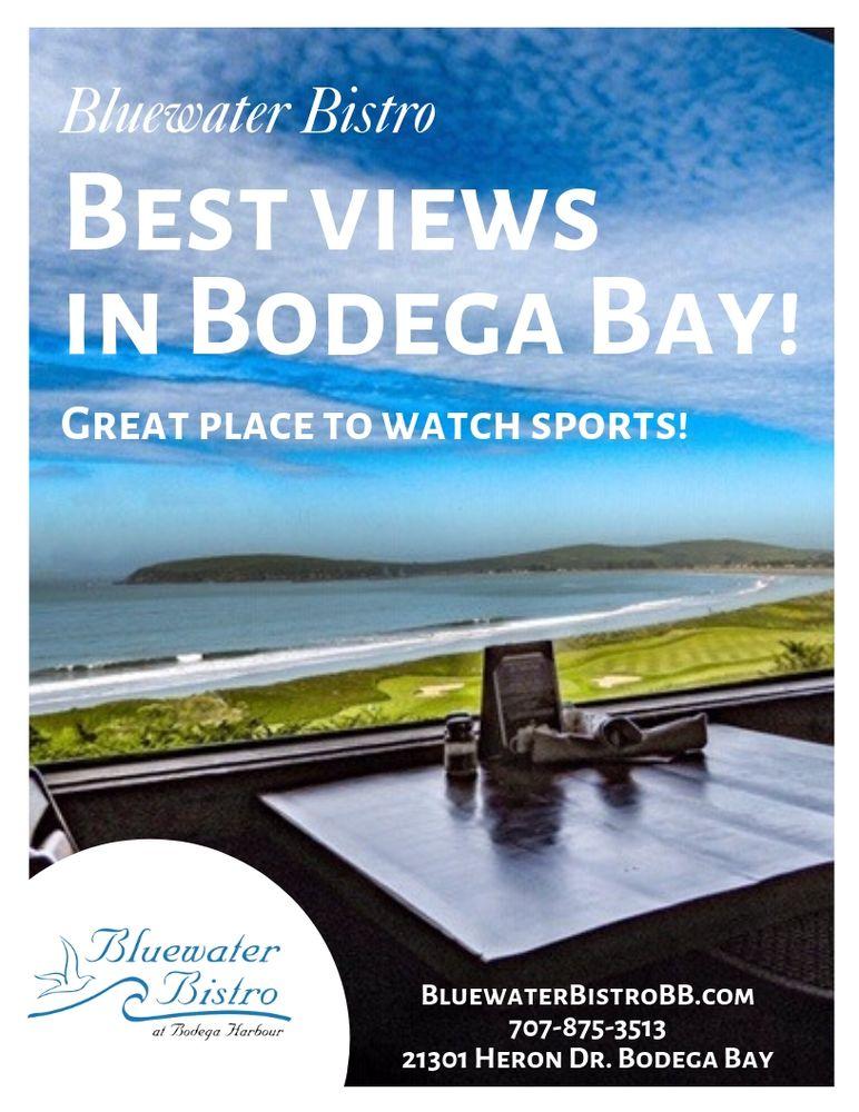 Bluewater Bistro & Bar: 21301 Heron Dr, Bodega Bay, CA