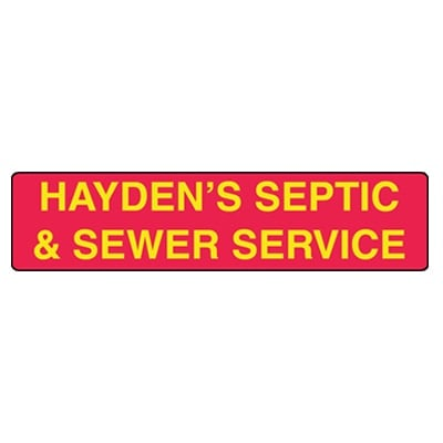 Hayden S Septic Amp Sewer Service Septic Services 4203 W