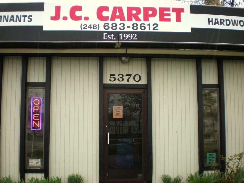 J C Carpet Carpeting 5370 Elizabeth Lake Rd Waterford