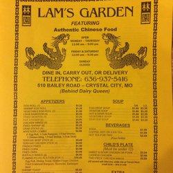 Lam S Garden Restaurant 12 Photos 37 Reviews Chinese 510 Bailey Rd Crystal City Mo