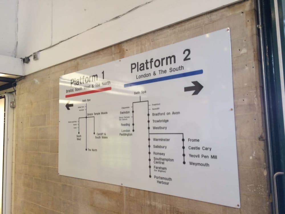 Bath spa train station 16 photos 14 reviews train for Do metro trains have bathrooms