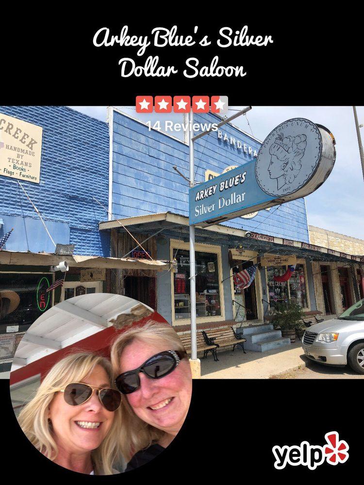 Arkey Blue's Silver Dollar Saloon: 308 Main St, Bandera, TX