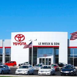 le mieux son toyota 11 reviews car dealers 2550 s oneida st green bay wi phone. Black Bedroom Furniture Sets. Home Design Ideas