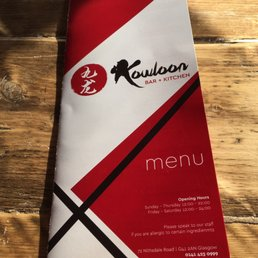 Kowloon Bar + Kitchen - Chinese - 72 Nithsdale Road, South Side ...