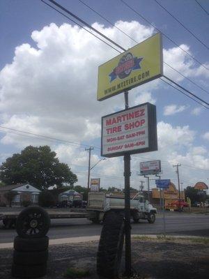 Martinez Tire Shop 13034 Nacogdoches Rd San Antonio Tx Tire Dealers