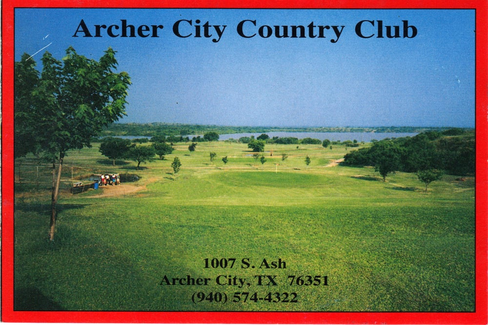 Archer City Country Club: 1007 S Ash St, Archer City, TX