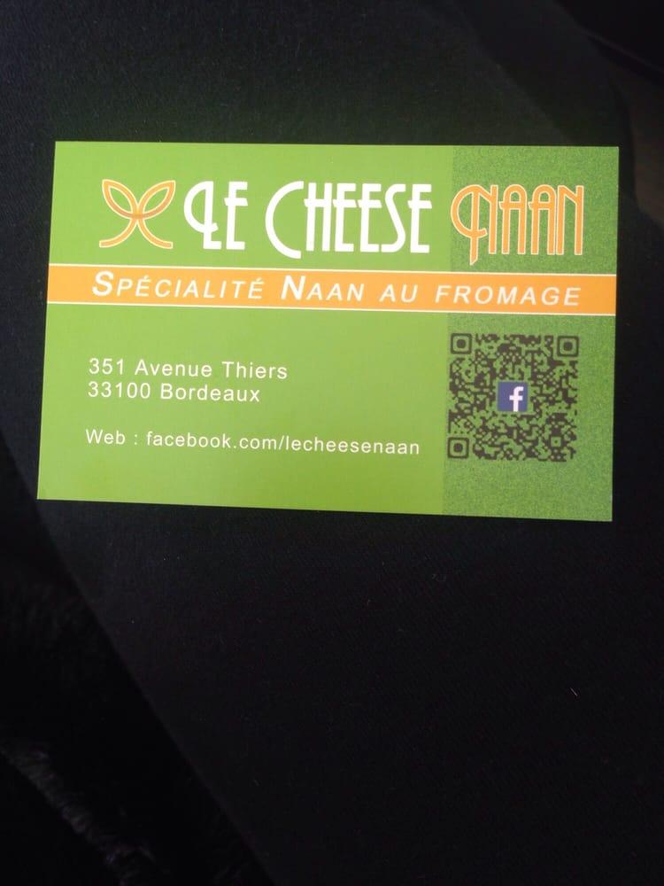 Le cheese naan kebab 351 avenue thiers bastide - Cabinet radiologie avenue thiers bordeaux ...