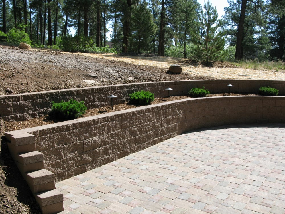 Photo Of Riverview Landscaping   Durango, CO, United States. Terraced Retaining  Wall Concrete