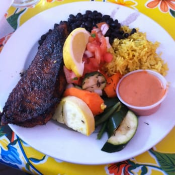 Photo Of Primo Patio Cafe   San Francisco, CA, United States. Blackened  Snapper