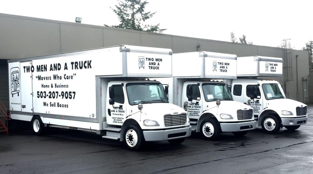 Two Men and a Truck Beaverton: 5405 SE Alexander St, Hillsboro, OR