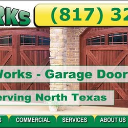 Photo Of DOOR WORKS   Colleyville, TX, United States. New Red Cedar Garage