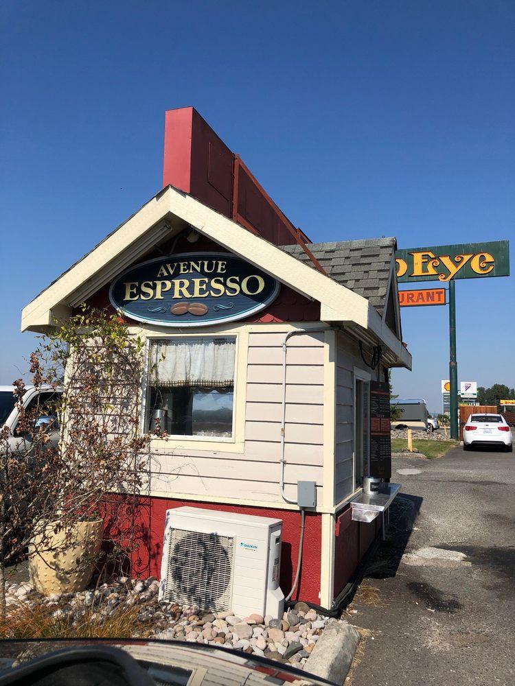 Avenue Espresso: 125 Kirkland Rd, Chehalis, WA