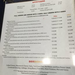 Photos For M M Soul Food Cafe Menu Yelp