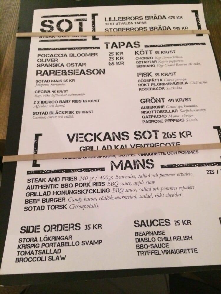 SOT Steak Och Tapas