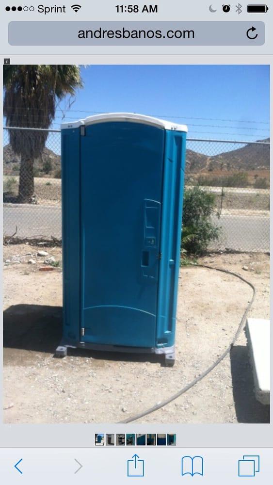 Andres Banos.Alicias Banos Portable Toilet Services Fontana Ca