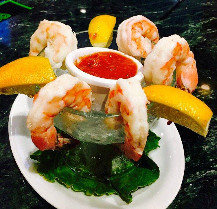 Peppino S Italian Restaurant: Jumbo Shrimp Cocktail Appetizer !!!