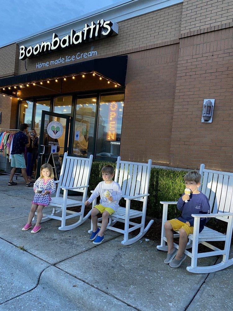 Boombalatti's Homemade Ice Cream: 1127 Military Cutoff Rd, Wilmington, NC