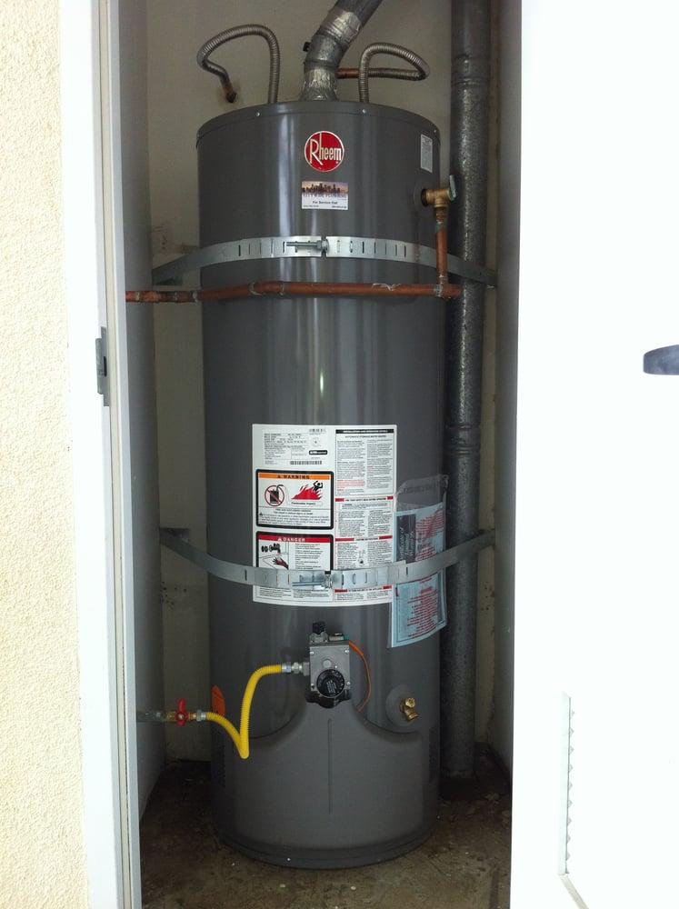Rheem Water Heater Installed By Citywide Plumbing Yelp