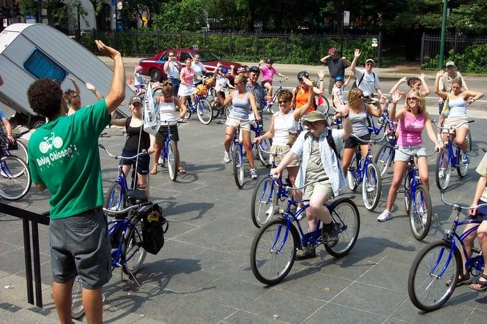 Bobby's Bike Hike: 540 N Lake Shore Dr, Chicago, IL