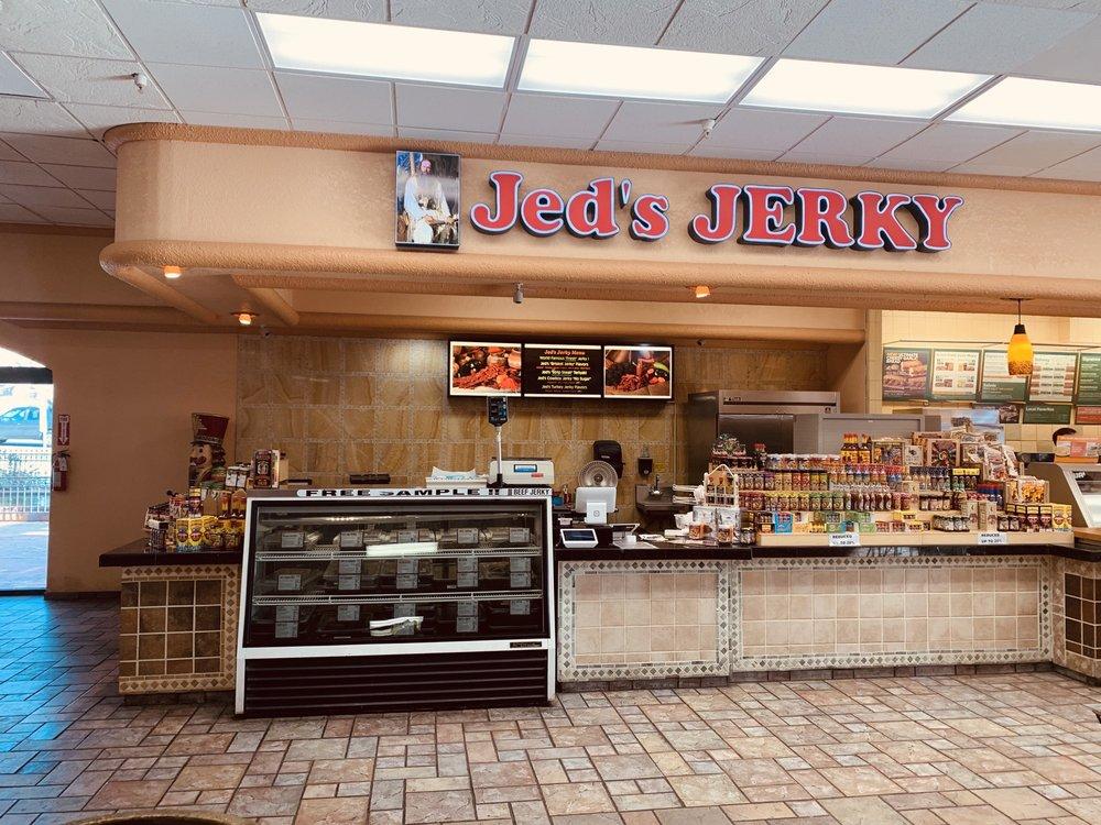Jedidiah's Jerky: 700 E Hwy 95 N, Beatty, NV