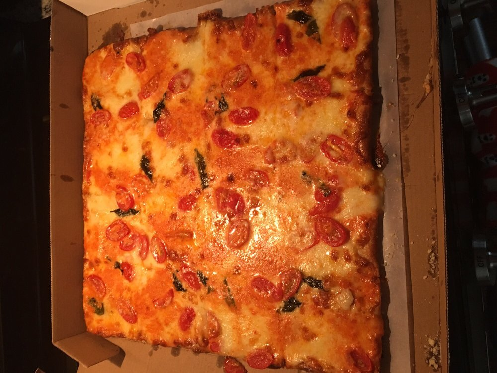 Food from Tony D's Pizza