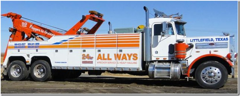 All Ways Towing: 805 E US 84, Littlefield, TX
