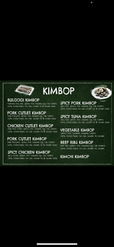Food from Kimbop