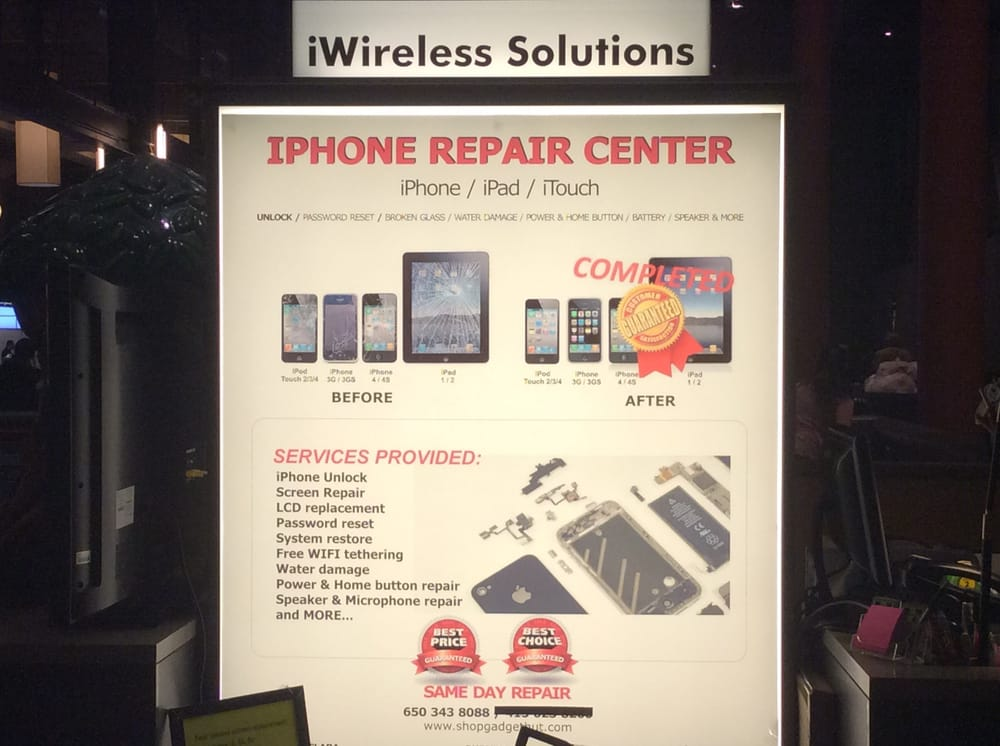 Iphone Screen Repair Northgate Mall