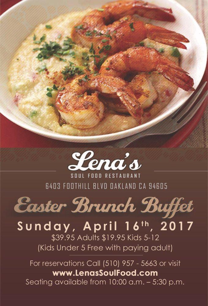 Lena S Soul Food Restaurant Oakland Ca