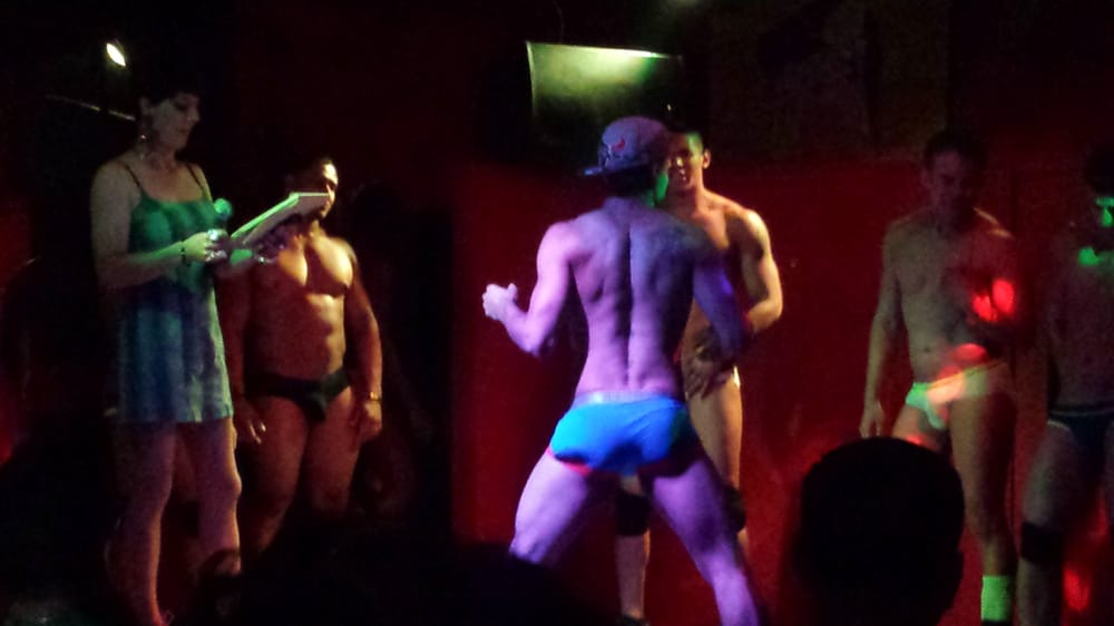 Male dancers amateur night