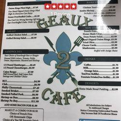 Geaux To Cafe Robert La