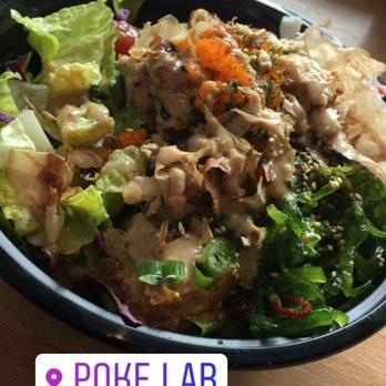 Poke lab fish bar 192 photos 176 reviews poke 1069 for Fish me poke menu