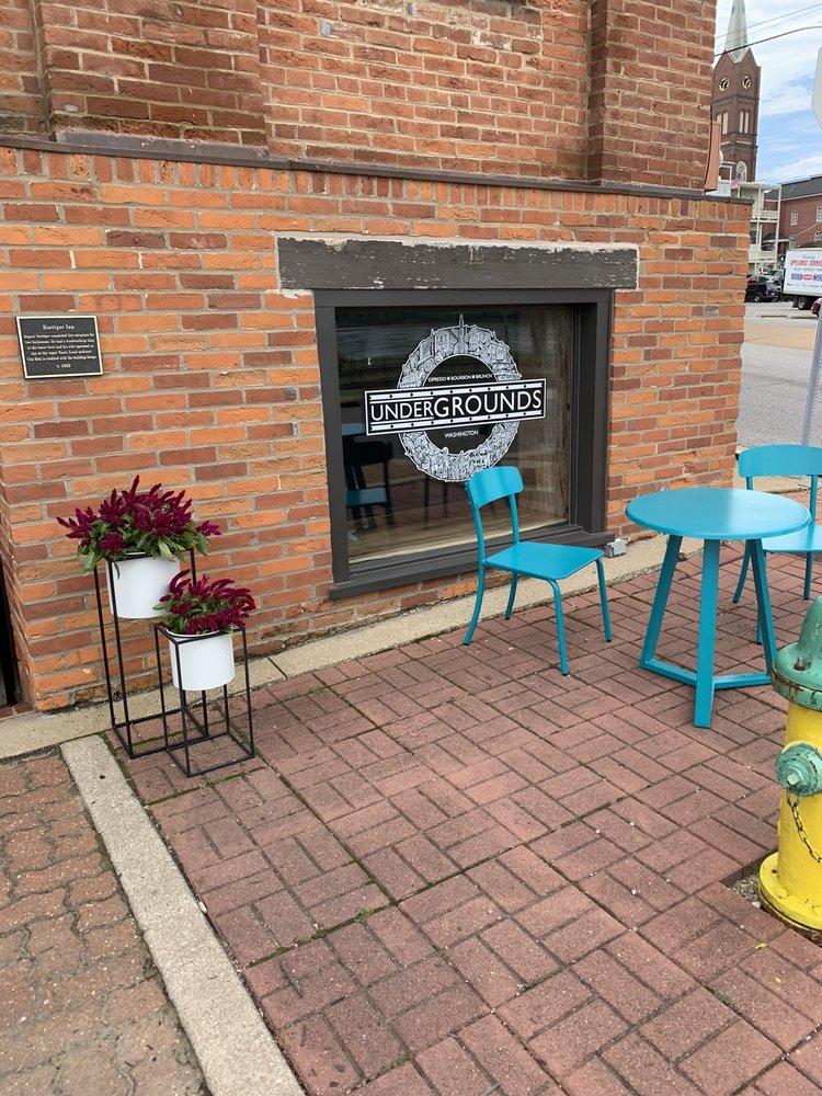 Undergrounds Espresso Bar: 120 W Front St, Washington, MO