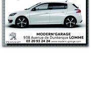 Concession peugeot modern garage demander un devis for Garage nord auto