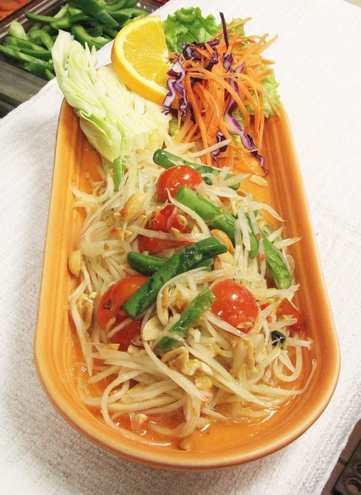 Som tum yelp for Ayothaya thai cuisine puyallup